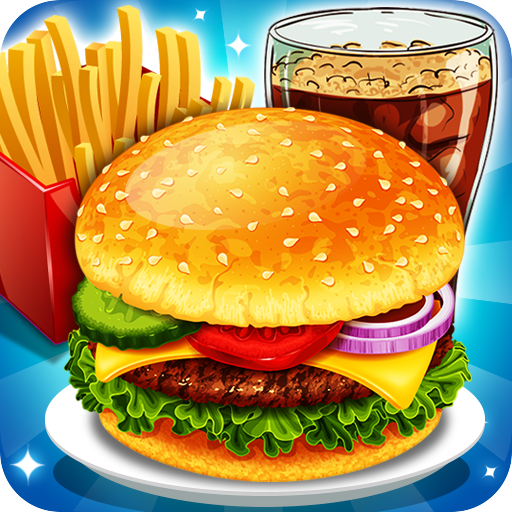 Fast Food  Cooking and Restaurant Game  (Mod Unlimited Money) 1.2
