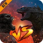 Godzilla & Kong 2021: Angry Monster Fighting Games 6 (Mod Unlimited Money)