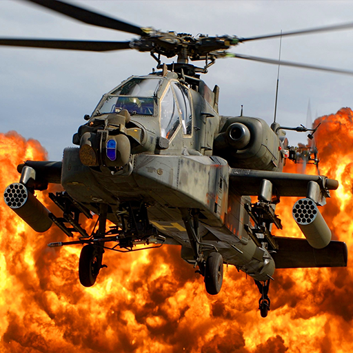 Gunship Force: Free Helicopter Games Attack 3D  (Mod Unlimited Money) 3.66.8