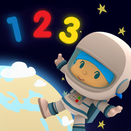 Pocoyo 1, 2, 3 Space Adventure: Discover the Stars  (Mod Unlimited Money) 1.1.1