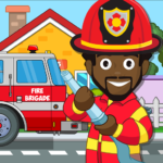 Pretend my Fire Station: Town Firefighter Life 1.4 (Mod Unlimited Money)