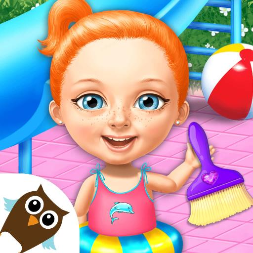 Sweet Baby Girl Cleanup 4 – House, Pool & Stable 4.0.10014 (Mod Unlimited Money)