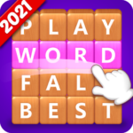 Word Fall – Brain training search word puzzle game 3.2.4 (Mod Unlimited Money)