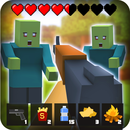 Zombie Craft Survival 3D: Free Shooting Game  (Mod Unlimited Money) 41.5