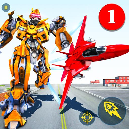 Air Robot Game – Flying Robot Transforming Plane  (Mod Unlimited Money) 2.5 2.5