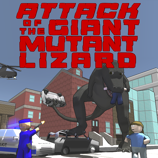 Attack of the Giant Mutant Lizard  (Mod Unlimited Money) 1.1.2