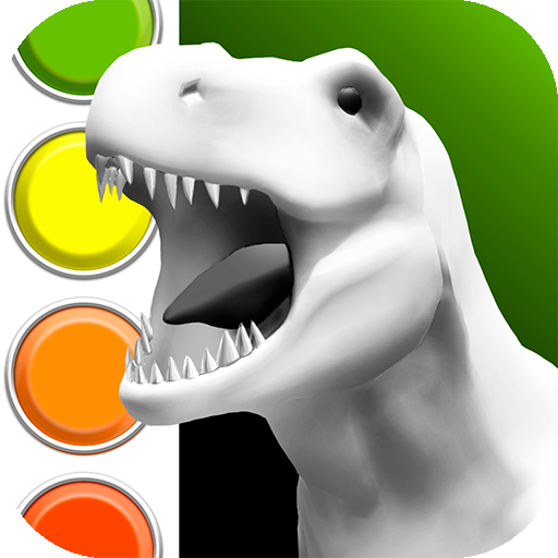 Dinosaurs 3D Coloring Book  (Mod Unlimited Money) 1.8