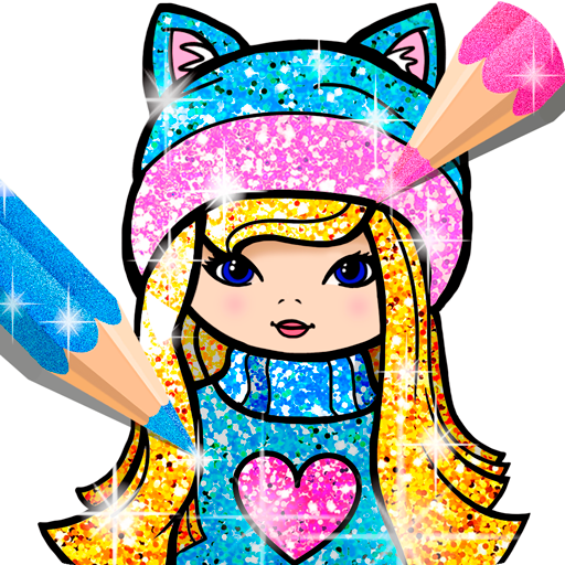 Girls Coloring Book for Kids Glitter  (Mod Unlimited Money) 1.1.6.4