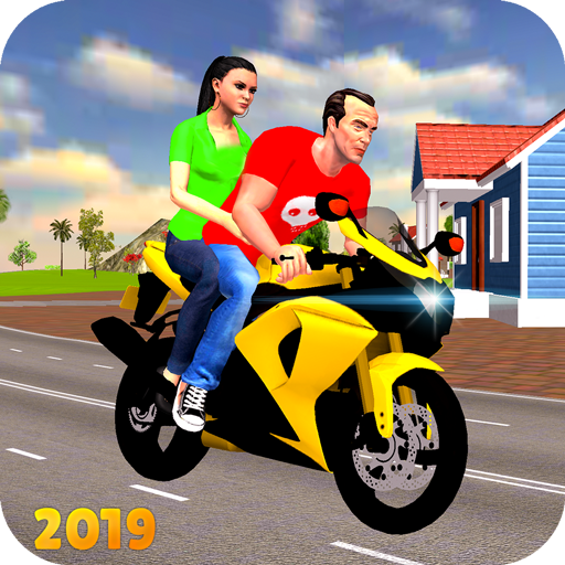 Offroad Bike Taxi Driver: Motorcycle Cab Rider  (Mod Unlimited Money) 3.2.16