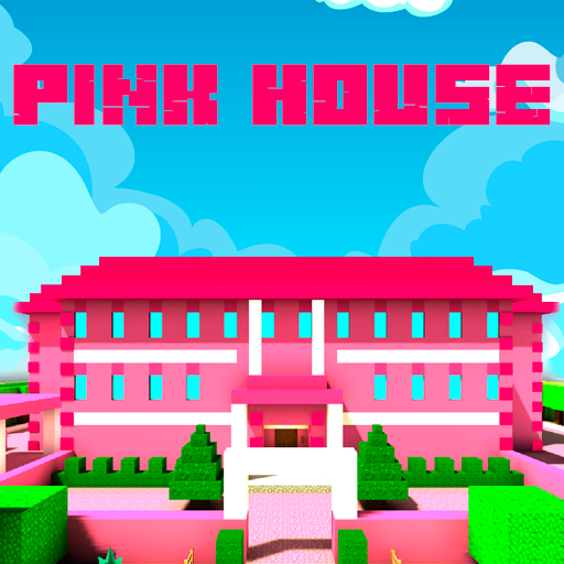 Pink Princess House Craft Game  (Mod Unlimited Money) 2.7.8