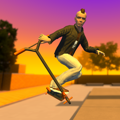 Street Lines: Scooter  (Mod Unlimited Money) 1.15