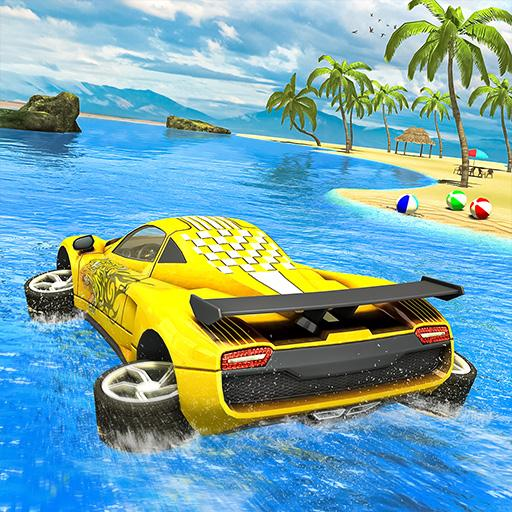 Water Surfer car Floating Beach Drive  (Mod Unlimited Money) 1.19