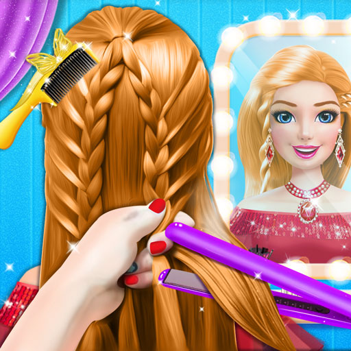 Braided Hairstyle Salon: Make Up And Dress Up 0.9 (Mod Unlimited Money)