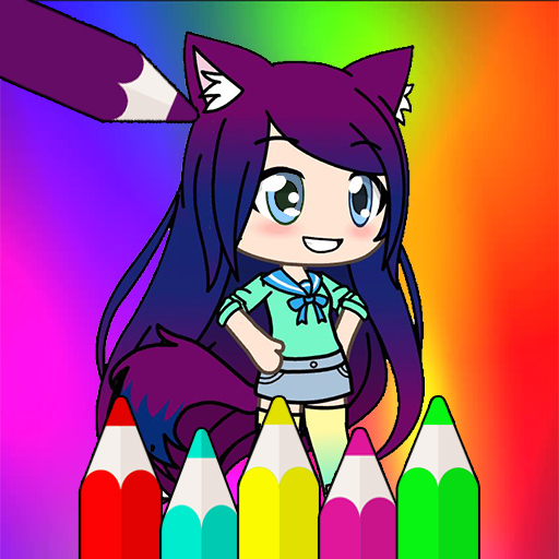 Coloring Pages for Gacha Life 1.1.5 (MOD)