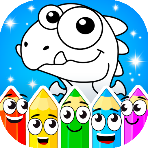 Coloring dinosaurs 1.4.6 (Mod Unlimited Money)