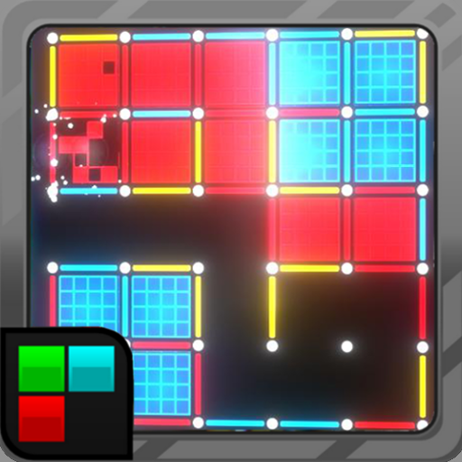 Dots and Boxes (Neon) 80s Style Cyber Game Squares  (Mod Unlimited Money) 2.1.29