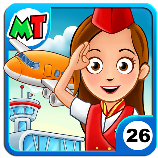 My Town : Airport  (Mod Unlimited Money) 1.18
