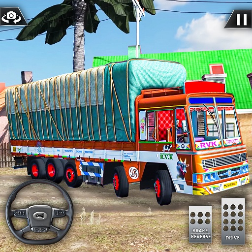 Real Mountain Cargo Truck Uphill Drive Simulator  (Mod Unlimited Money) 1.22