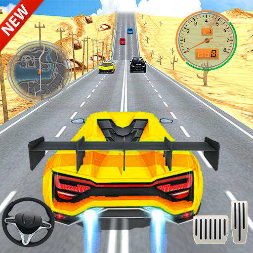 Car Racing in Fast Highway Traffic 2.1 (Mod Unlimited Money)