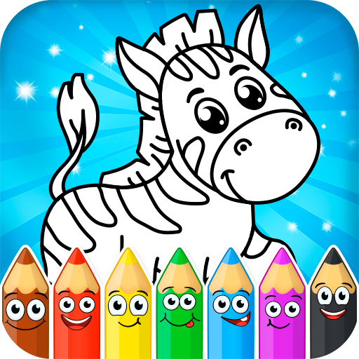 Coloring pages for children: animals 1.1.0  (Mod Unlimited Money)