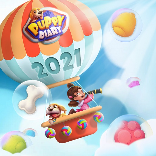 Puppy Diary: Free Epic match 3 Casual Game 2021 1.0.2(Mod Unlimited Money)