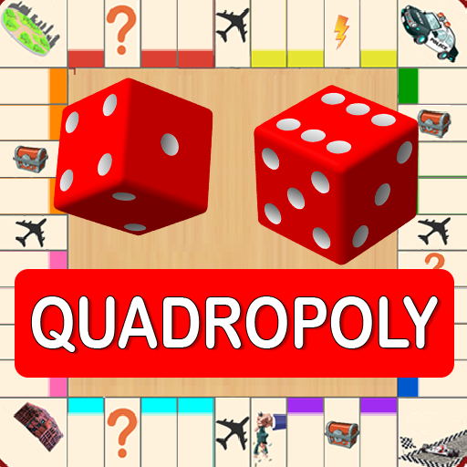 Quadropoly Best AI Board Business Trading Game 1.78.87 (Mod Unlimited Money)