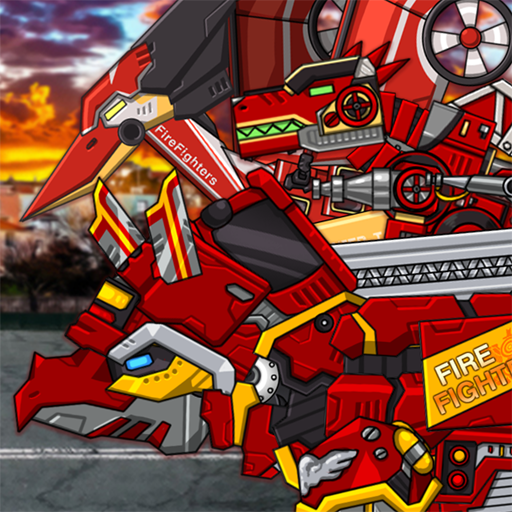 Triceratops – Combine! Dino Robot Fire Truck Squad 1.4.3 (Mod Unlimited Money)