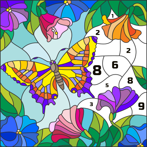 Wonder Color – Color by Number Free Coloring Book 54 (Mod Unlimited Money)