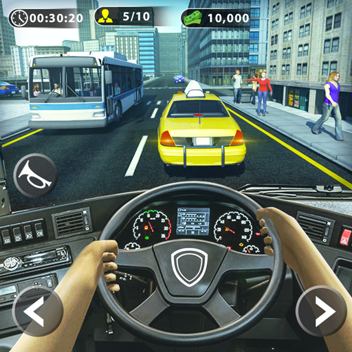 City Bus Driving Simulator 1.9 (Mod Unlimited Coins)