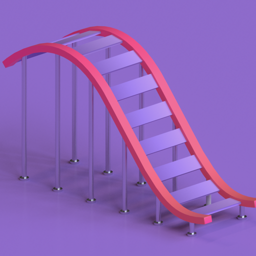 Coaster Builder: Roller Coaster 3D Puzzle Game 1.3.12 (Mod Unlimited Coins)
