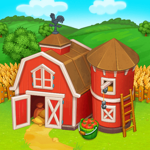 Farm Town: Happy village near small city and town 3.54 (Mod Unlimited rubies)