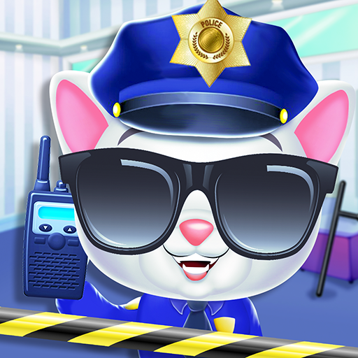 Kitty Cat Police Fun Care & Thief Arrest Game 7.0 (Mod full version)