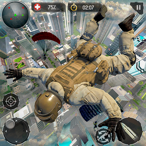 Real Commando Fire Ops Mission: Offline FPS Games 1.3.2 (Mod Unlimited Captain's Pay)