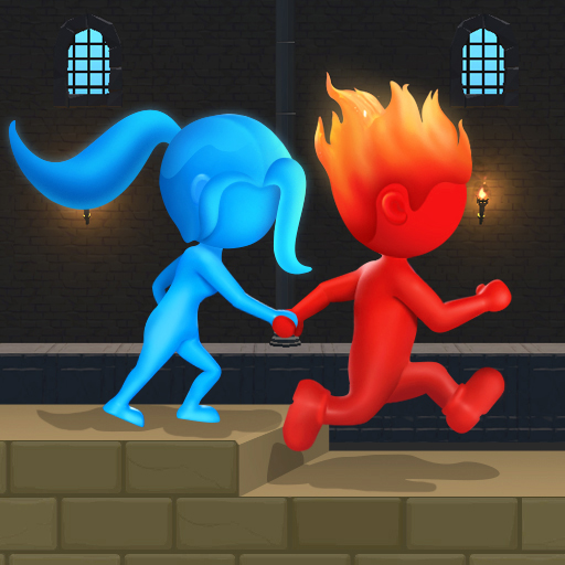 Water & Fire Stickman 3D 2.0.4 (Mod Unlimited thearts)