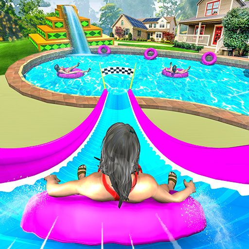 Water Slide Uphill Rush Adventure 2020  0.1 (Mod Unlimited subscription)