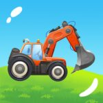 Build a House with Building Trucks 1.19  (Mod Unlimited trucks)