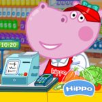 Cashier in the supermarket. Games for kids 1.1.5 (Mod Unlimited Money)