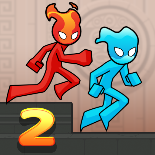 Fire and Water Stickman 2 : The Temple 0.5.2 (Mod Unlimited Subscription)