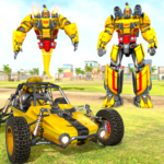 Flying Ghost Robot Car Game 1.1.7 (Mod Unlimited Money)