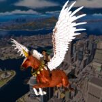 Flying Horse Taxi City Transport: Horse Games 2021 3.2 (Mod Unlimited Money)