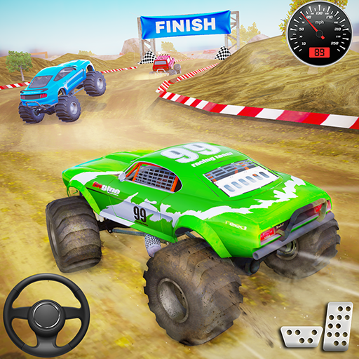 Monster Truck Car Racing Game 1.0.7 (Mod Unlimited Gold)