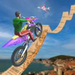 bike stunt 3d and bike racing games 1.3 (Mod Unlimited Coins)