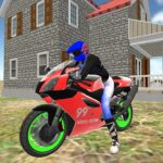 real moto bike racing- police cars chase game 2019 1.13 (Mod Unlimited Money)